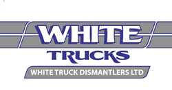White Truck Dismantlers Logo